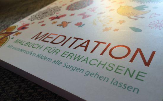 Malbuch für Erwachsene zum entspannen -Meditation