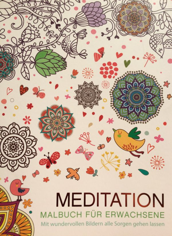 Mandalas für Erwachsene - Malbuch