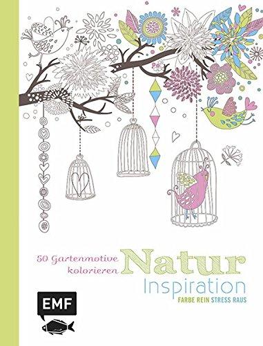 Ausmalbuch Natur