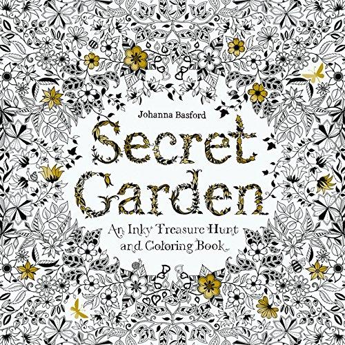 Malbuch für Erwachsene - Johanna Basford - Secret Garden Coloring Book