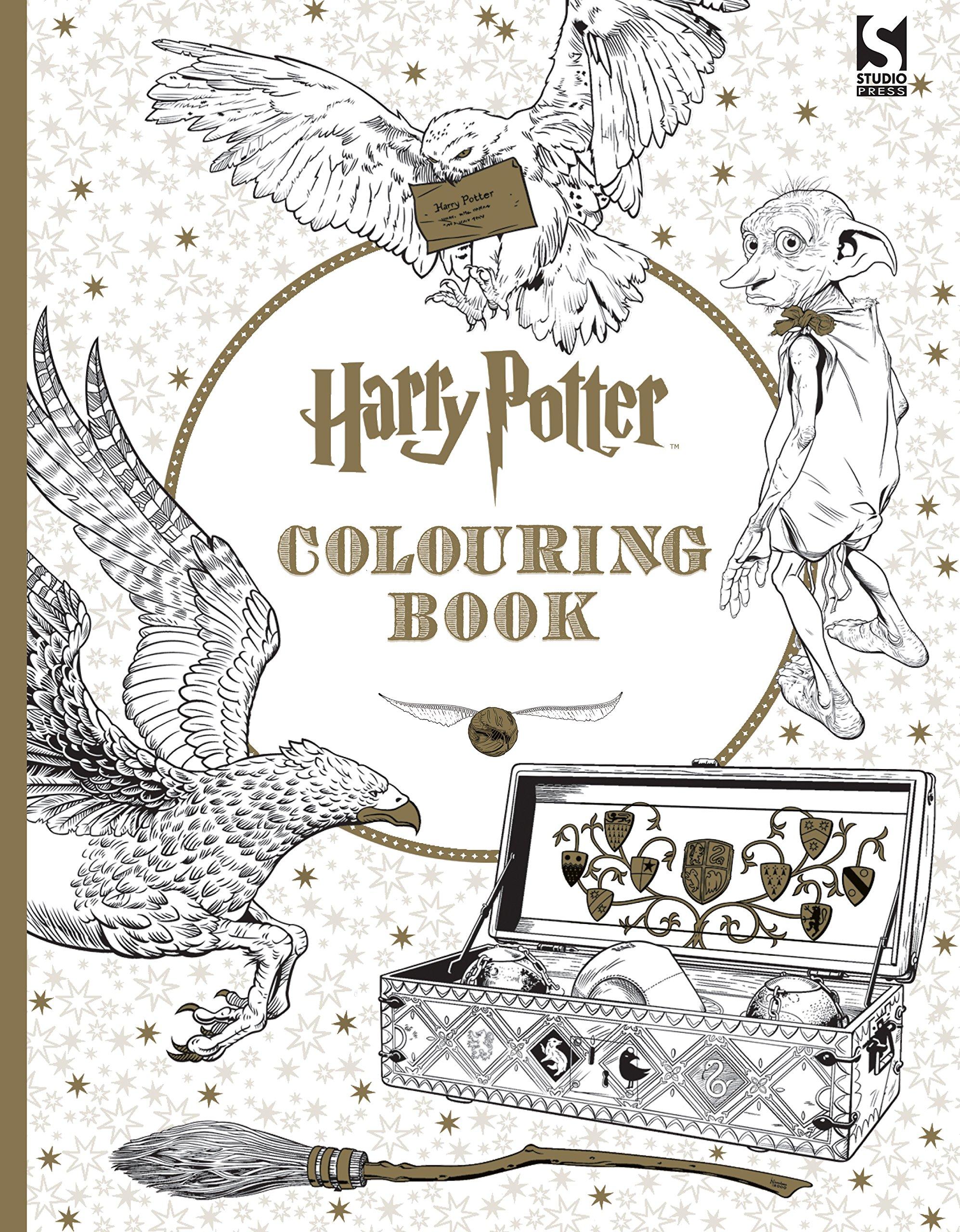 Ausmalbuch für Erwachsene Harry Potter