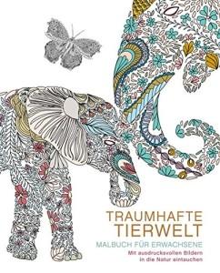 Malbuch für Erwachsene Tierwelt