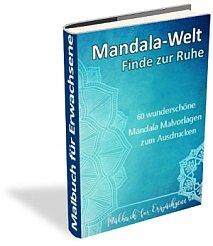 Malbuch für Erwachsene kostenloses Mandala Malbuch