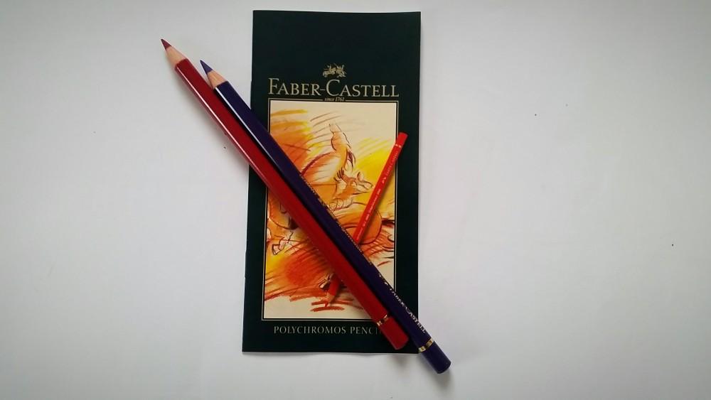 Faber-Castell Polychromos 36 | Malbuch für Erwachsene