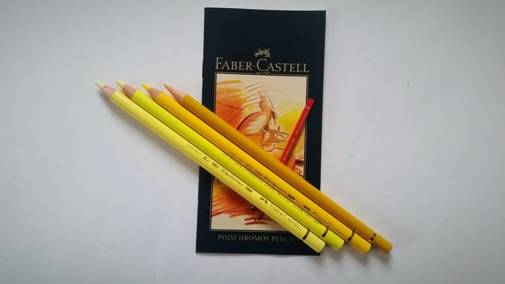 Faber-Castell Polychromos 36 Gelbtöne