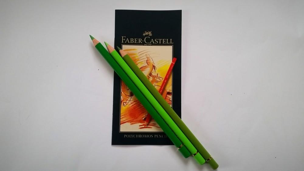 Faber-Castell Polychromos 36 - Grüntöne einzeln