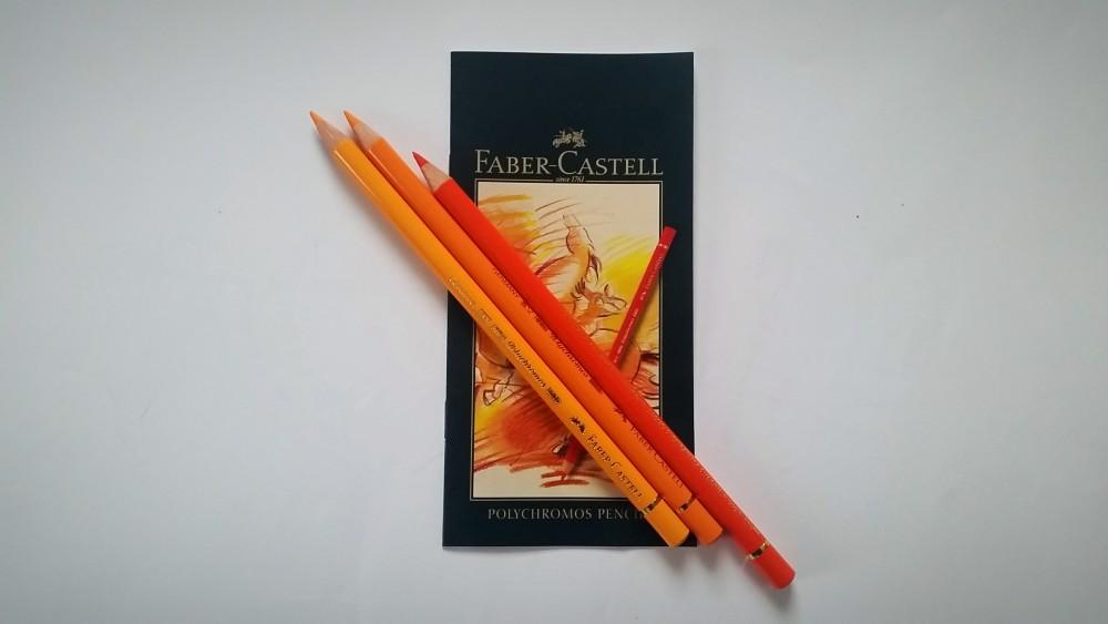 Faber-Castell Polychromos 36 - Orangetöne