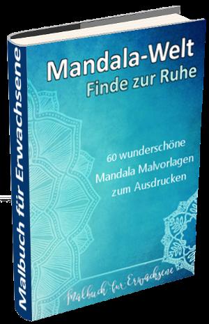 Malbuch für Erwachsene - Mandala-Malbuch.de