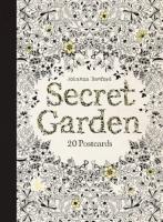 Postkarten zum Ausmalen für Erwachsene Johanna Basford Secret Garden