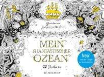 Postkarten zum Ausmalen für Erwachsene Johanna Basford Lost Ozean Mein Phantastischer Ozean
