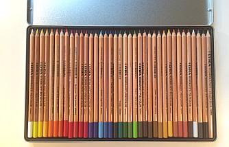 LYRA Rembrandt Polycolor 36 Test Metalletui