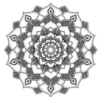 Mandala Malbuch für Erwachsene zum Ausdrucken