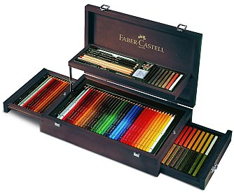 faber castell holzkoffer